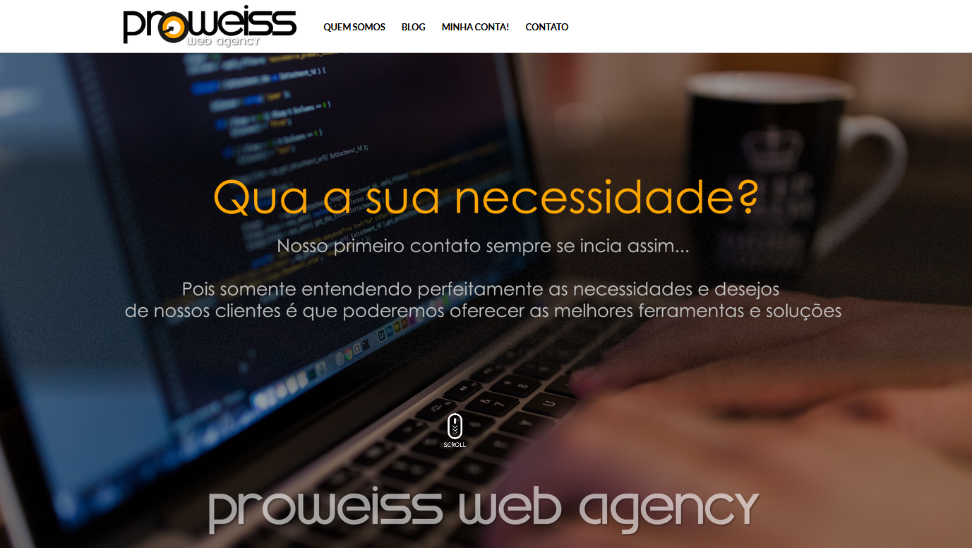 PROWEISS lança novo website