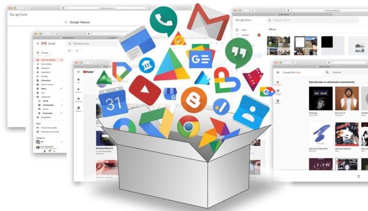 Google Takeout: descarregue tudo o que é seu e que está nos serviços da Google